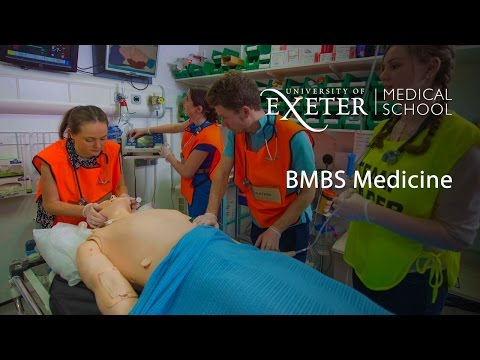 Video Study Medicine at the University of Exeter Medical School