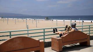 California Governor Says New Virus Cases Began Falling