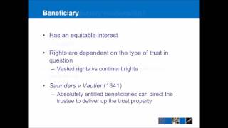 Introduction to Trusts Law