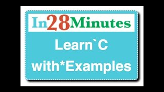Learn C with Examples : Tutorial with Example Programs