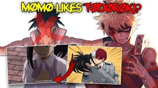 Momo Yaoyorozu  - (My Hero Academia) - Bakugou is NOT Sasuke & Todoroki x Momo Yaoyorozu Confirmed? - My Hero Academia Season 3 Episode 8