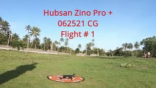Hubsan Zino Pro+ Precision Landing Test