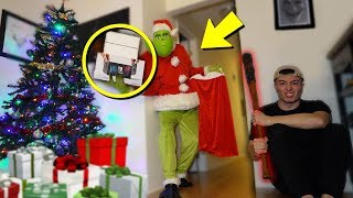 THE GRINCH BROKE INTO OUR HOUSE AT 3 AM AND STOLE GIVEAWAY PRESENTS  (CAN