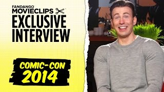 Chris Evans & <b>Mark Ruffalo </b>Avengers Age Of Ultron Exclusive Interview ComicCon 2014 HD
