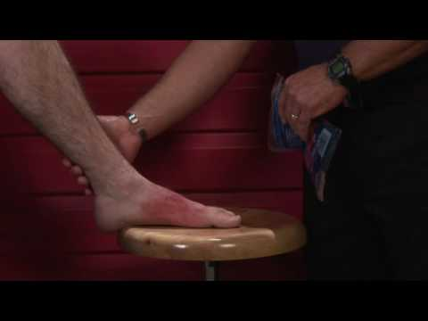 Basic First Aid : How to Tell the Difference Between an Ankle Sprain & a Break
