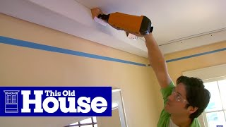 How To Install Three-Piece Crown Molding   This Old House