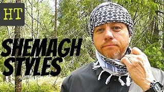 Top 4 Ways Tie A Shemagh