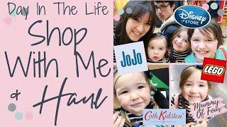 SHOP WITH ME & HAUL   DISNEY STORE   JOHN LEWIS   CATH KIDSTON   JOJO MAMAN BEBE   MUMMY OF FOUR