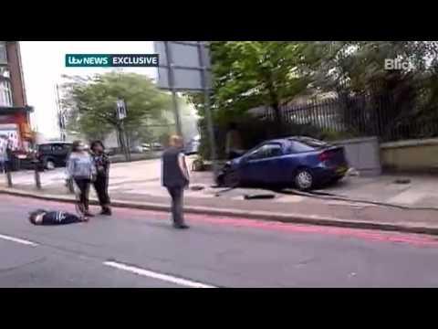 Bluttat in London  Zwei Männer köpfen Soldat mit Hackbeil -- Ausland -- Blick