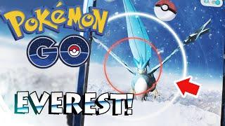Articuno  - (Pokémon) - Pokémon GO - CAPTURANDO A ARTICUNO EN EL MONTE EVEREST - AzTTeKWolF