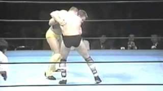 Shamrock, Ken vs Leon Dijk Pancrase Eye of Beast 1995