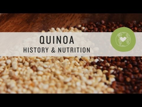 Video Quinoa History and Nutrition - Superfoods