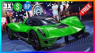 NEW GTA 5 Online Update Today! FREE Supercar, 3X Money Rewards, Bonus Cash Opportunities & MORE!