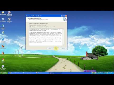 Cài đặt bổ trợ cho Windows Media Player xem Media trên mọi định dạng