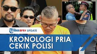 Kronologi Pria Cekik dan Maki Polantas di Gerbang Tol Angke 2 Jakarta Barat