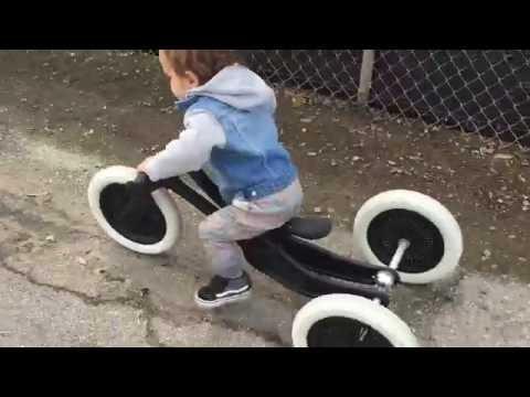 """Vorschau: Umbauset zum Dreirad - Trike Kit - für das """"2in1"""" Bike black - Modell Bike ab 2020"""