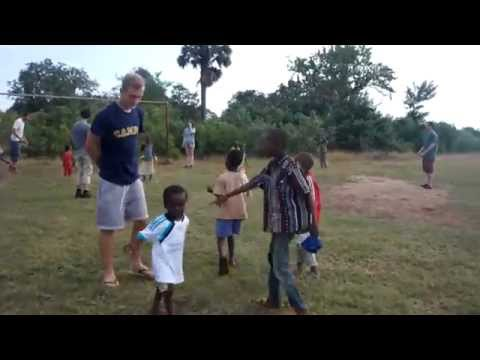 Playing With Kids In Tanga