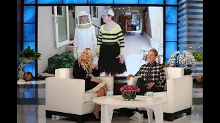 Beth Behrs Helps Pull Off the First Andy Scare of the Season! | Kholo.pk