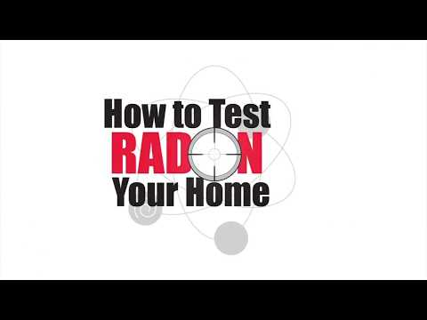 How to use our Radon Test Kit to test your crawl space for high levels of Radon gas.