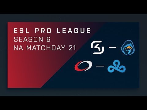 CS:GO: SK vs. Rogue | compLexity vs. Cloud9 – Day 21 – ESL Pro League Season 6 – NA 2nd Stream