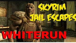 Skyrim how to escape jail in Whiterun