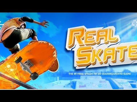 Vidéo Skateboard réel 3D