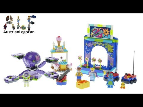 Vidéo LEGO Toy Story 10770 : Le carnaval en folie de Buzz et Woody !