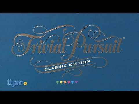 Trivial Pursuit Classic Edition from Hasbro