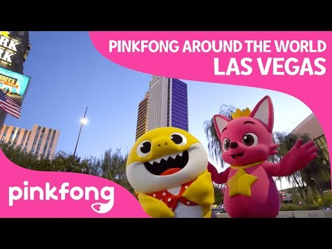 Pinkfong Around the World! | Las Vegas, USA | Pinkfong Songs for Children