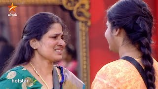 அது உன்னோட அப்பா இல்ல என்ற Kavin - கடுப்பான Losliya Amma  | Losliya Family Entry | Bigg Boss| Review  It is day 80 inside the Bigg Boss house and the freeze task continues to bring joy inside the house. Today we have Losliya's parents who flew all the way from Srilanka to meet their lovely daughter, Losliya. Losliya who hasn't seen her father in 10 years has now come down to visit her and advice her about various issues. The episode is officially out now and we see Losliya's parents strictly telling her to stay away from Kavina and only focus on the game and nothing more. Losliya has a breakdown while Cheran tries to support her. Kavin cries over his love while the housemates try to handle the situation. Hit play to watch the full review episode of this episode!  Stay tuned to Galatta Tamil for latest updates on Cinema and Politics. Like and Share your favorite videos and Comment your views too.  Subscribe to GALATTA TAMIL : http://goo.gl/J4TyOo  #BiggBoss #FreezeTask #LosliyaFamilyEntry  Also, Like and Follow us on: Facebook: https://www.facebook.com/GalattaMedia Twitter: https://twitter.com/galattadotcom Website: http://www.galatta.com Instagram: https://www.instagram.com/stories/galattadotcom/