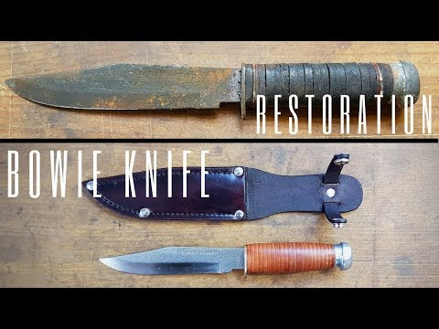 Bowie Knife Restoration