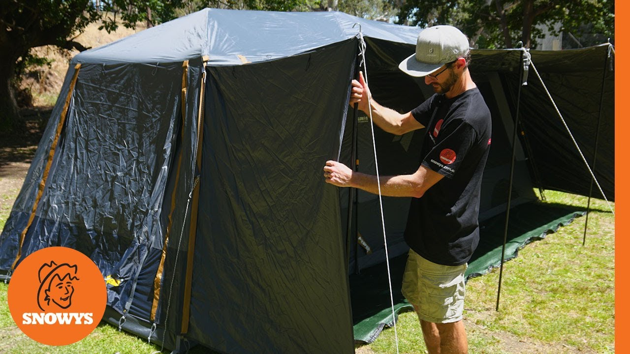 Fast Frame Lumos Integrated Lighting 10 Person Tent