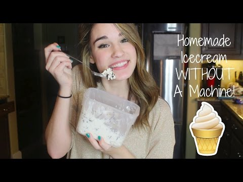 Video How to Make Homemade Icecream Without an Icecream Machine!