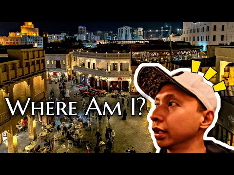 Souq Waqif At Night!  I Got Lost! | Vlog 09