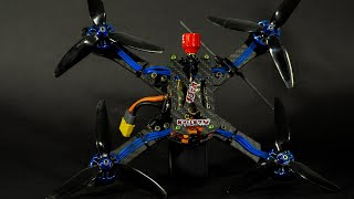 RACER DRONE Martian II 220mm 4s Restored to Race - Complete Build FPV - FREE FPV