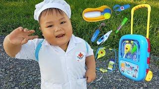 Trò Chơi Bác Sĩ Đến Rồi ❤ ChiChi ToysReview TV ❤ Đồ Chơi Trẻ Em kids Song