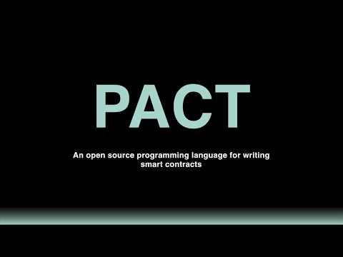 Pact Tutorials - Welcome To Pact - Beginner 01