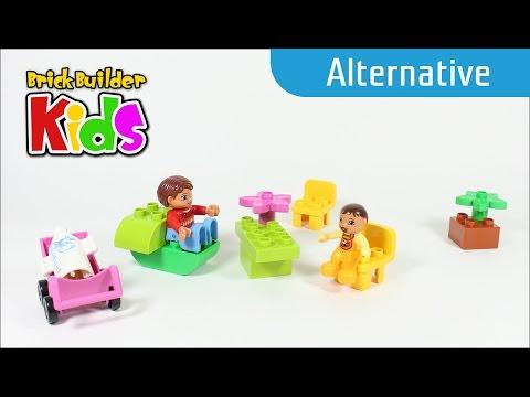 Vidéo LEGO Duplo 10585 : Maman et bébé