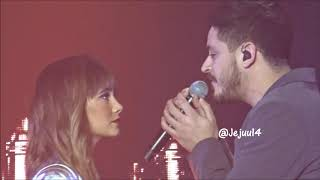 Aitana Y Cepeda 'no Puedo Vivir Sin Ti'   Ot Hasta Pronto Barcelona  Palau  - 28 12 2018   @jejuu14