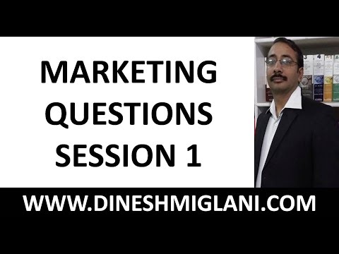 300 IMPORTANT MARKETING QUESTIONS SESSION 1 FOR IBPS ...