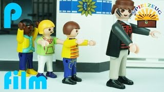 KINDER STOPPEN AUSBRUCH AUS POLIZEISTATION  Polizei Einsatz  Playmobil Film Deutsch