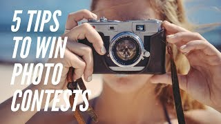 5 tips to win photo contests!