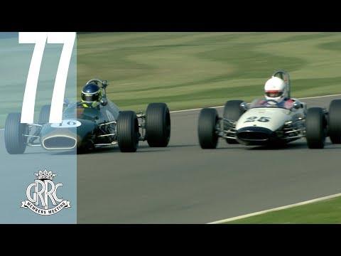 Incredible final lap battle at Goodwood