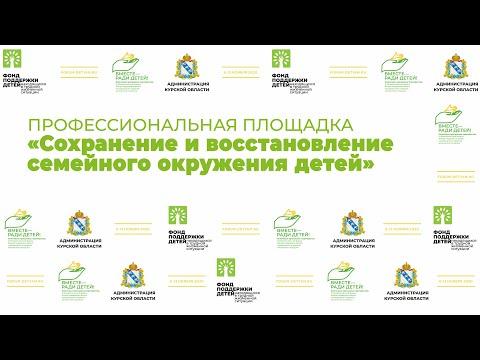 Профессиональная площадка «Сохранение и восстановление семейного окружения детей»