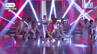 Luciana Fuster Y Austin Palao Se Caracterizaron Como Shakira Y Bad Bunny