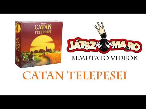 Catan társajáték bemutató - Jatszma.ro