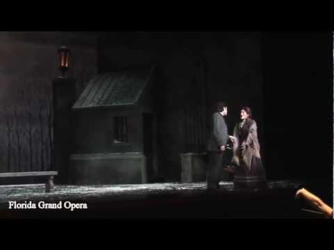 Florida Grand Opera's La Bohème, Act 3 Finale...