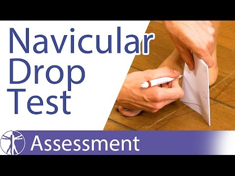 Download The Navicular Drop Test for Foot Overpronation Mp4 HD Video and MP3