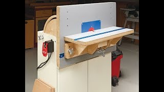 Project Overview: Combination Router Table