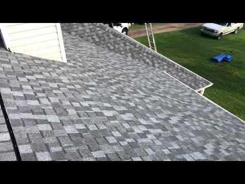 We removed the old leaking roof system and installed a new CertianTeed Landmark Pro Shingle that will protect this home for many years to come.